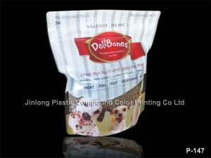 Printed Stand up Pet Food Bag pictures & photos