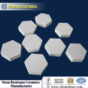 Aluminum Oxide Ceramic Hexagonal Tiles as Wear Liner pictures & photos