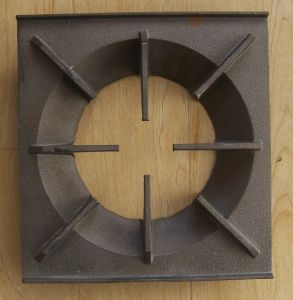 Cast Iron Grid for Cooking
