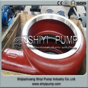 High Chrome Alloy Centrifugal Water Treatment Slurry Pump Parts pictures & photos