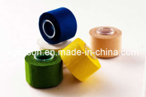 Cotton Adhesive Sports Tape Approved by ISO pictures & photos