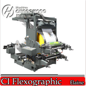 Economic Central Impression 2 Colors Flexo Printing Press Machine (CIS series) pictures & photos