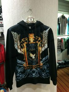 Digital Printing Hoody Clothing with Side Pocket in Man Clothes Fw-8734