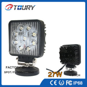 CREE LED Driving Head 27W Offroad 4WD Work Light pictures & photos