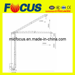 2 Ton Qtk20 Self Erecting Tower Crane with Factory Price pictures & photos