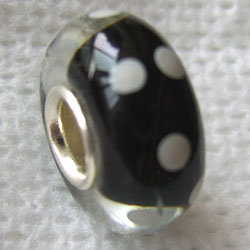 Silver Core Glass Beads