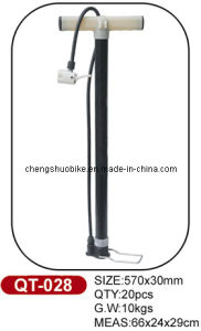 Competitive Price Bicycle Pump Qt-028 pictures & photos