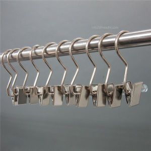 Wholesale Flat Metal Mini / Regular Luandry Clip Hanger for Boots pictures & photos