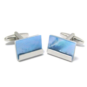 High Quality Fashion Metal Men′s Cufflinks (H0053) pictures & photos