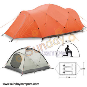 4-Season Tent Camping Tent Poly Oxford Tent pictures & photos