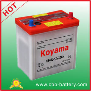 Ns40L Dry Battery JIS Standard Auto Battery 32ah 12V pictures & photos