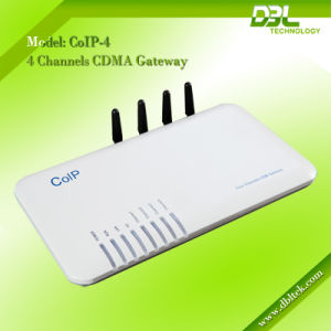 4-Channel CDMA VoIP Gateway CoIP-4 pictures & photos