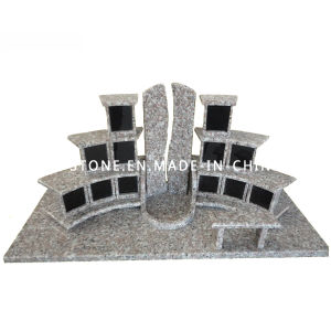 ODM Design Pink Granite Stone Mausoleum for Cremation pictures & photos