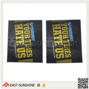 Customized Sublimation Logo Microfiber Cleaning Cloths pictures & photos