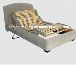 Electric Adjustable Slat Bed with Bed Frame pictures & photos