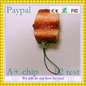Full Capacity Bacon USB Flash Drive (GC-H007) pictures & photos