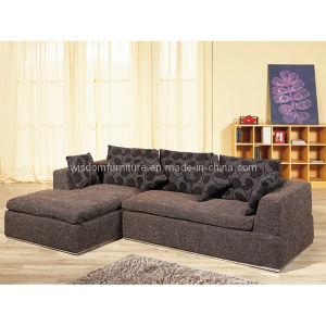 Modern Living Room Sofa, Fabric Corner Sofa (WD-6353)