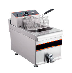 One Tank Stainless Steel Electric Deep Fryer pictures & photos