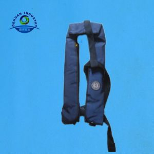 Customized 150n Manual Inflatable Life Jacket with Hr Device