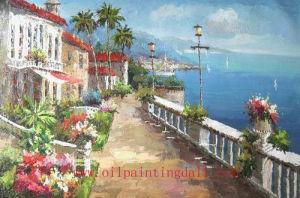 Mediterranean Oil Paintings On Canvas (T93)