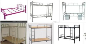 Steel Bed pictures & photos