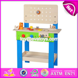 Best Sale Educational Toys Wooden Kids Tool Bench W03D042 pictures & photos