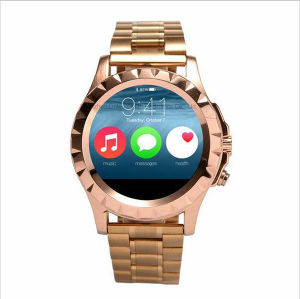 T2 Smart Phone Watch for Bluetooth Waterproof Smartwatch Sliver Wearable Devices Bracelet Watch with Heart Rate Function pictures & photos