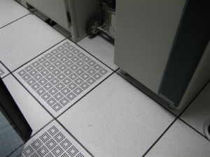 Antisatic Steel Perforated Raised Floor