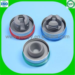 32mm Rubber Stopper with Cap for Infusion Bottle pictures & photos