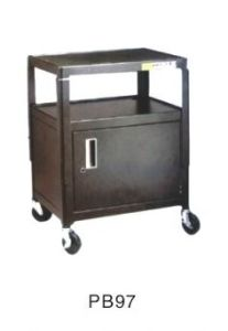 Projector Cart With Wheels, 2 Layers With Cabinet (PB97)