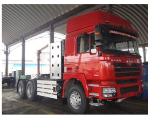 Shacman CNG Tractor Head Dlong 6X4 Tractor Truck pictures & photos