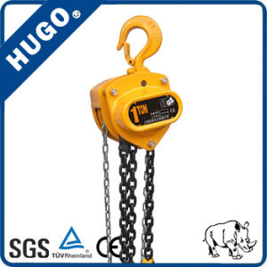 Hsz-CD 1 Ton Hand Chain Hoist Blocks pictures & photos