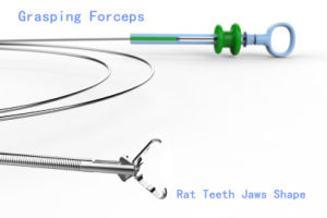 Disposable Grasping Forceps with Jaws pictures & photos