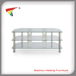 TV Stand/TV Rack Glass Furniture Simple Design (TV103) pictures & photos