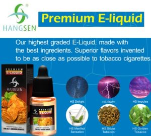 Best Quality Hangsen E Liquid Premium HS Delight HS Storm pictures & photos