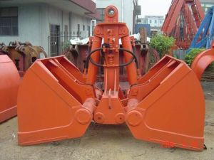 Motor Hydraulic Bulk Grab pictures & photos
