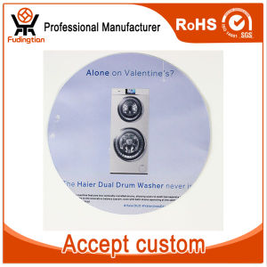 Fdt Custom Advertising Logo Printed Round Rubber Mouse Pad