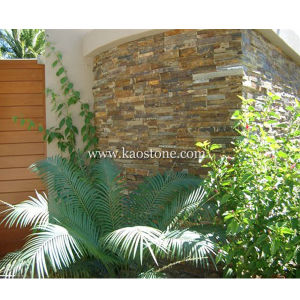 Natural Rusty Slate Veneer Culture Stack Stone for Wall Cladding pictures & photos