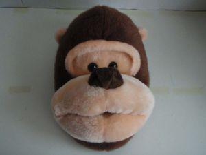 Plush Gorilla Shoes