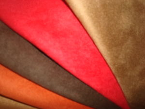 Tricot Micro Suede Fabric pictures & photos