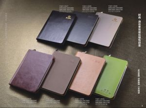 PU Leather Agenda 2015 New Style pictures & photos