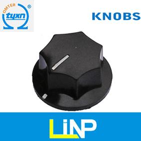 Bakelite Plastic Electrical Knobs for Potentiometer (5007-9 series)