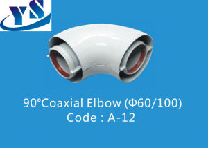 90 Degree Coaxial Elbow (A-12)