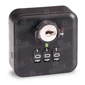 ABS Housing 3 Dials Resettable Combination Cabinet Lock with Decode Function pictures & photos