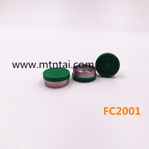 20mm Flip off Caps in Green Color pictures & photos