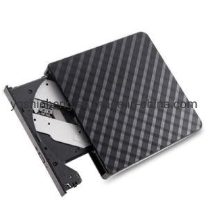Diamond Shape USB3.0 External Portable CD DVD Drive Writer Burner