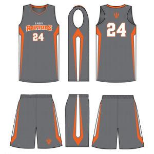 Custom Women Sublimation Basketball Uniform for Basketball Teams pictures & photos