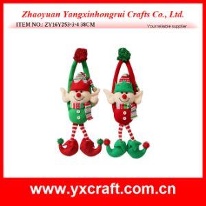 Christmas Decoration (ZY16Y257-1-2 27CM) Christmas Dear Elf Jar Elf Boot Christmas Elf Hanging Decoration pictures & photos