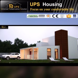 Real Estate and Construction Light Steel Structure Prefab House pictures & photos