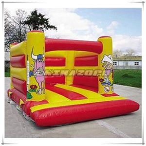 Cheap Price Inflated Bouncy Castle for Sale